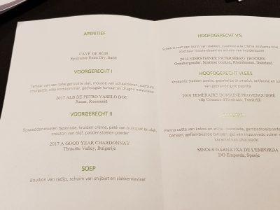 1. Het menu