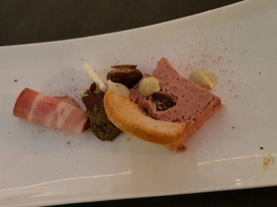 3. Paté van buikspek en slak