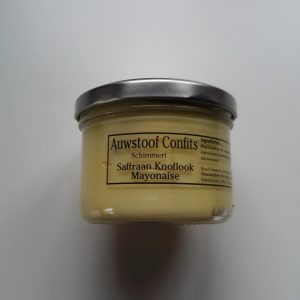 Saffraan-Knoflook mayonaise van Auw Stoof Confits